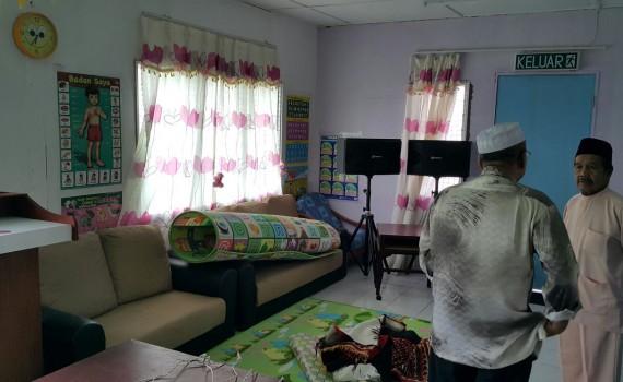 Ruang Dalam BIlik Taska Masjid